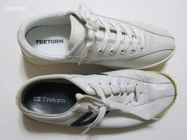 TRETORN NYLITE LEATHER